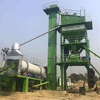 Professional and experienced asphalt mixing plant and coal burner manufacturer at the KAZKOMAK Exhibition